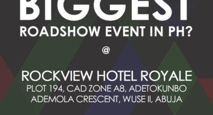 TGM Education FREE Roadshow Event in Portharcourt