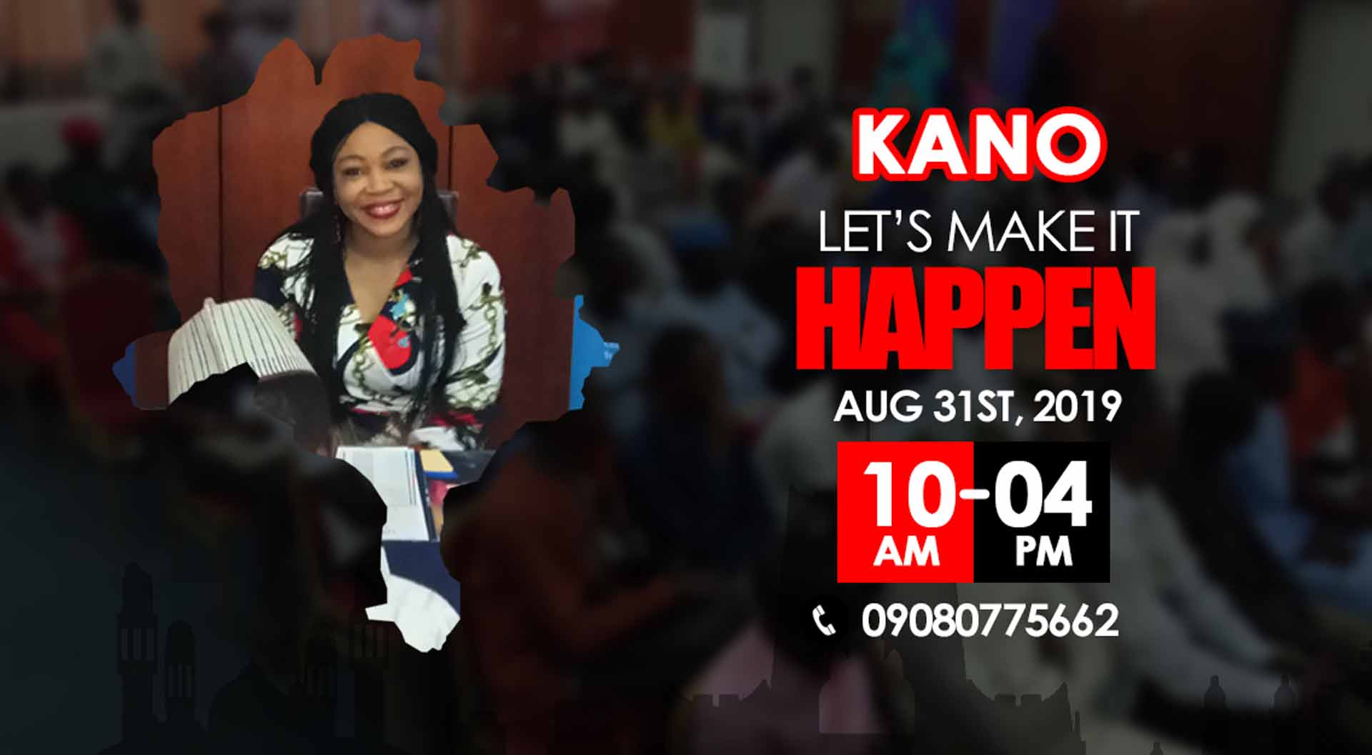 TGM Education Roadshow Event LIVE In KANO