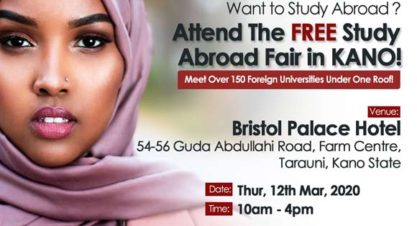 Interested In Studying Abroad? Attend this FREE Roadshow Event Happening in Kano