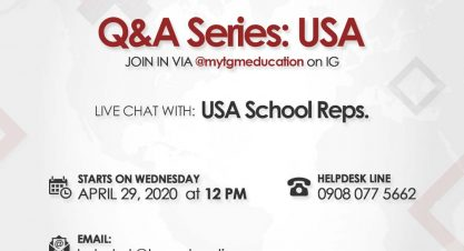 Is USA Your Preferred Study Destination? Join us on TGM Education IG Page Tomorrow