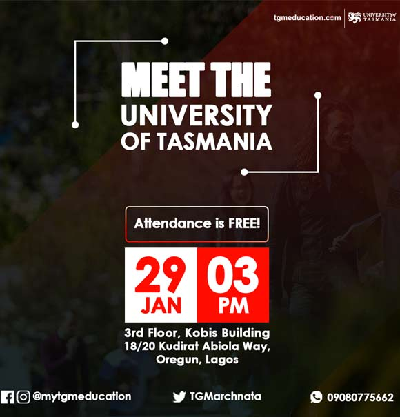 University of Tasmania Visit To Lagos