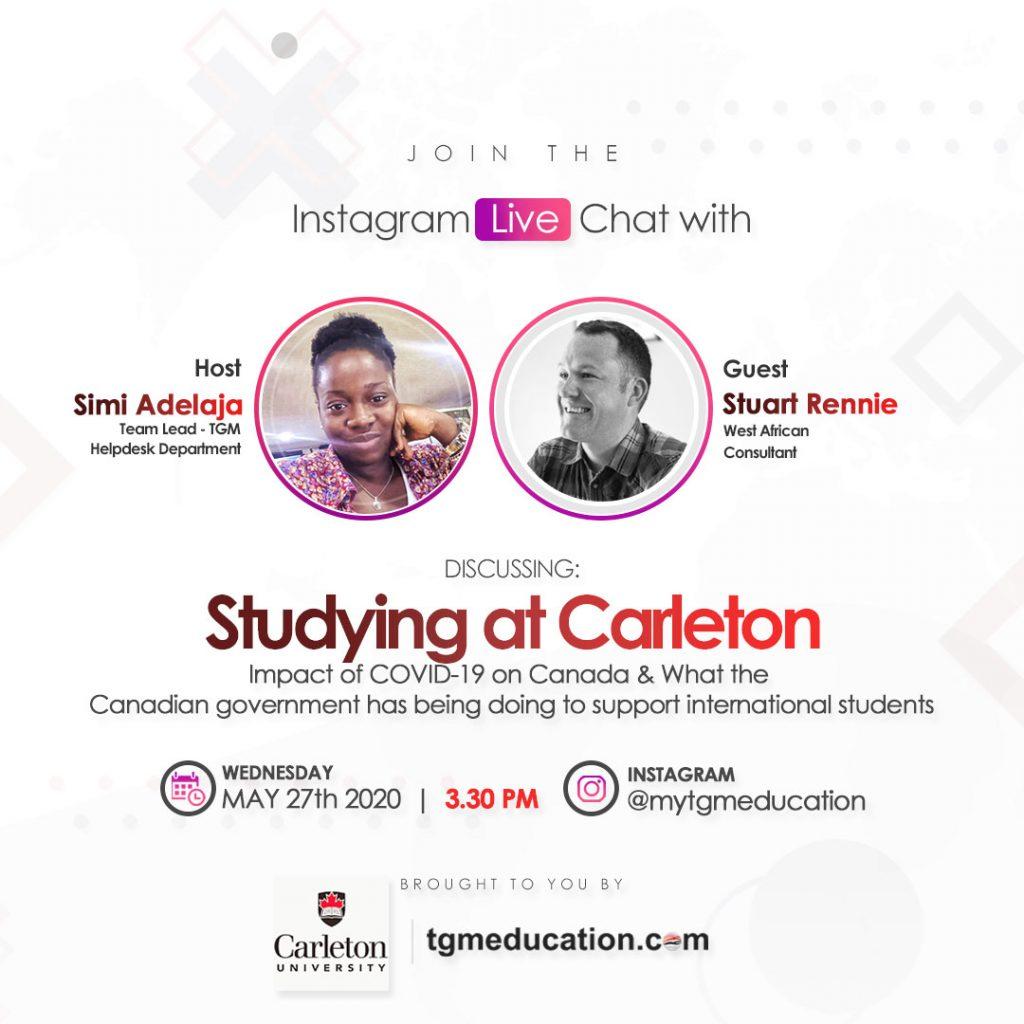 Stuart Rennie - West African Consultant for Carleton University