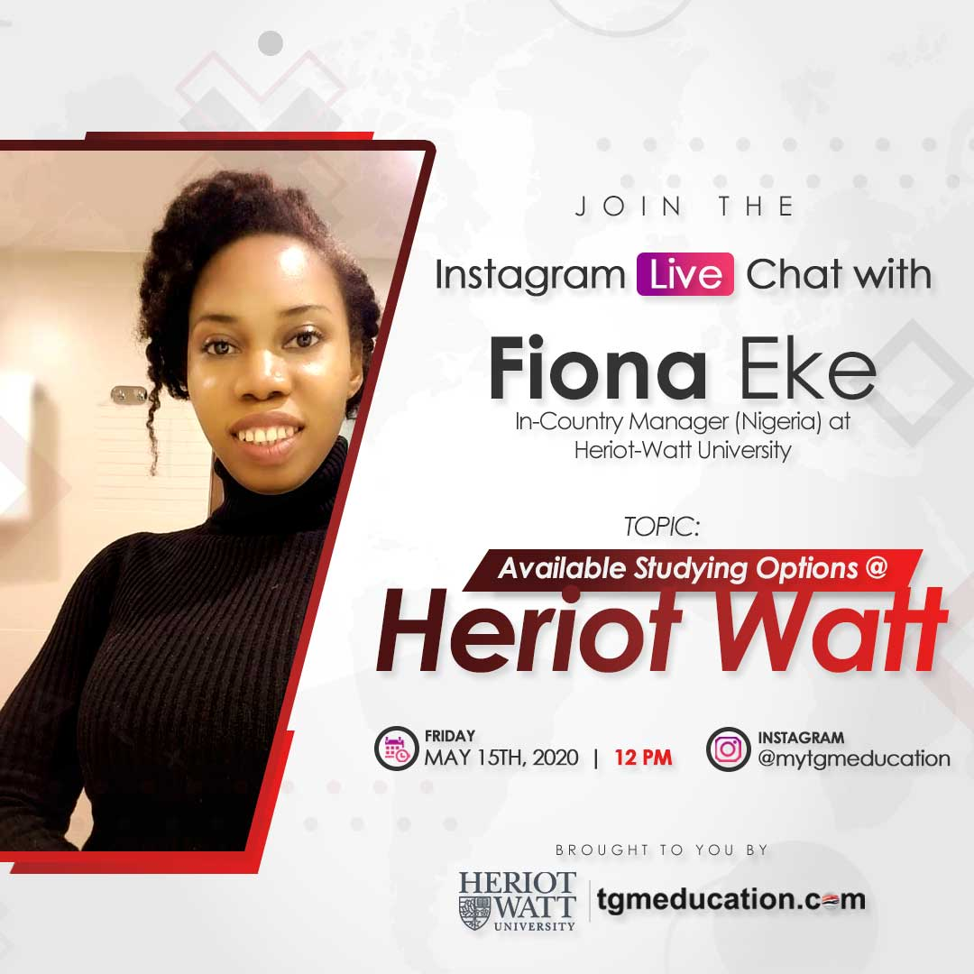 Live IG Session With Heriot-Watt-University