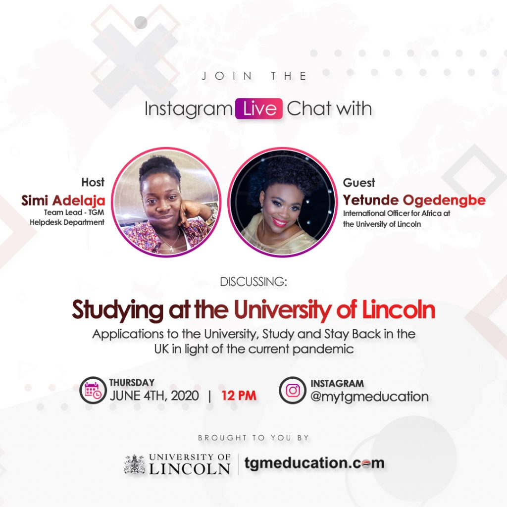 University of Lincoln IG Live Session