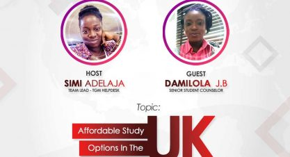 Interested In Learning More On The UK Study Options? Join us on Wednesday via IG Live