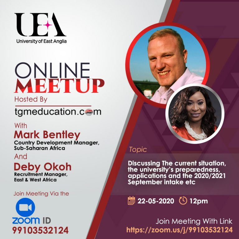 Online Meeting with UEA