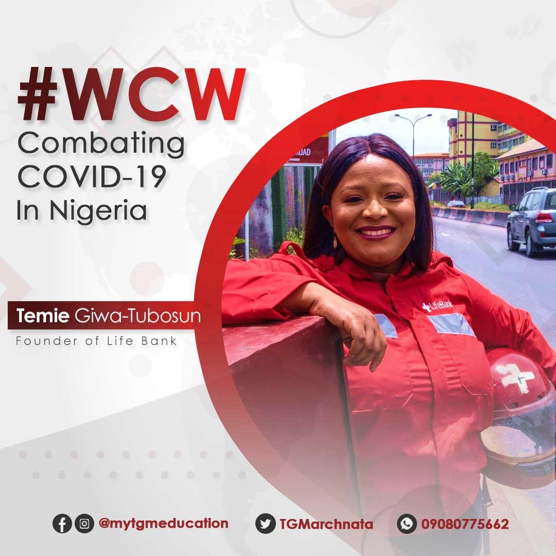 Meet Temie Giwa; A Public Health Expert Combating Covid-19 in Nigeria