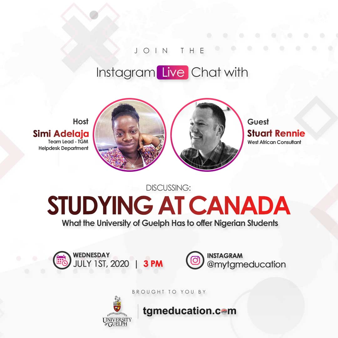 Studying at Canada with the University of Guelph