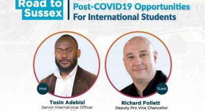 Road to Sussex – Post-COVID19 Opportunities For International Students