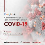 How Google and Apple are Controlling The Spread of COVID-19