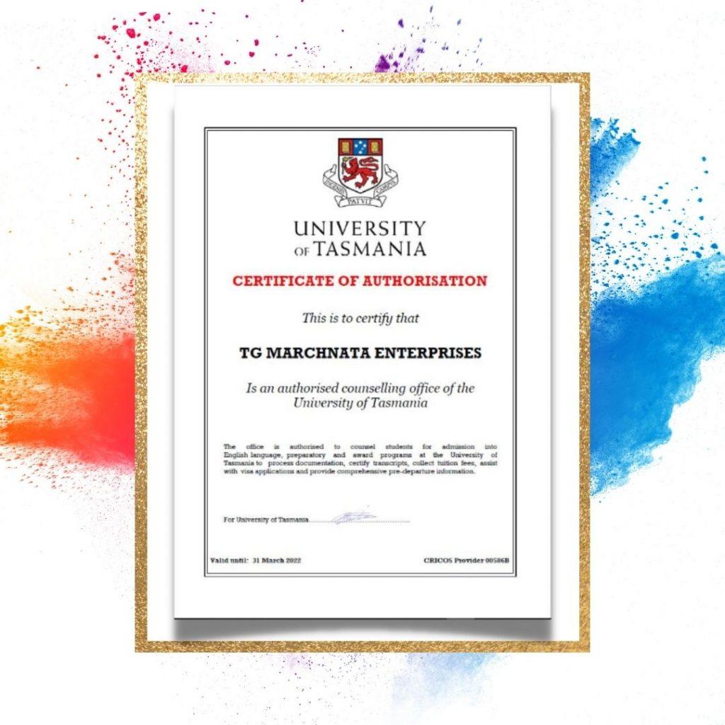 TGM-Education-Certificate-of-Authorization-by-University-of-Tasmania