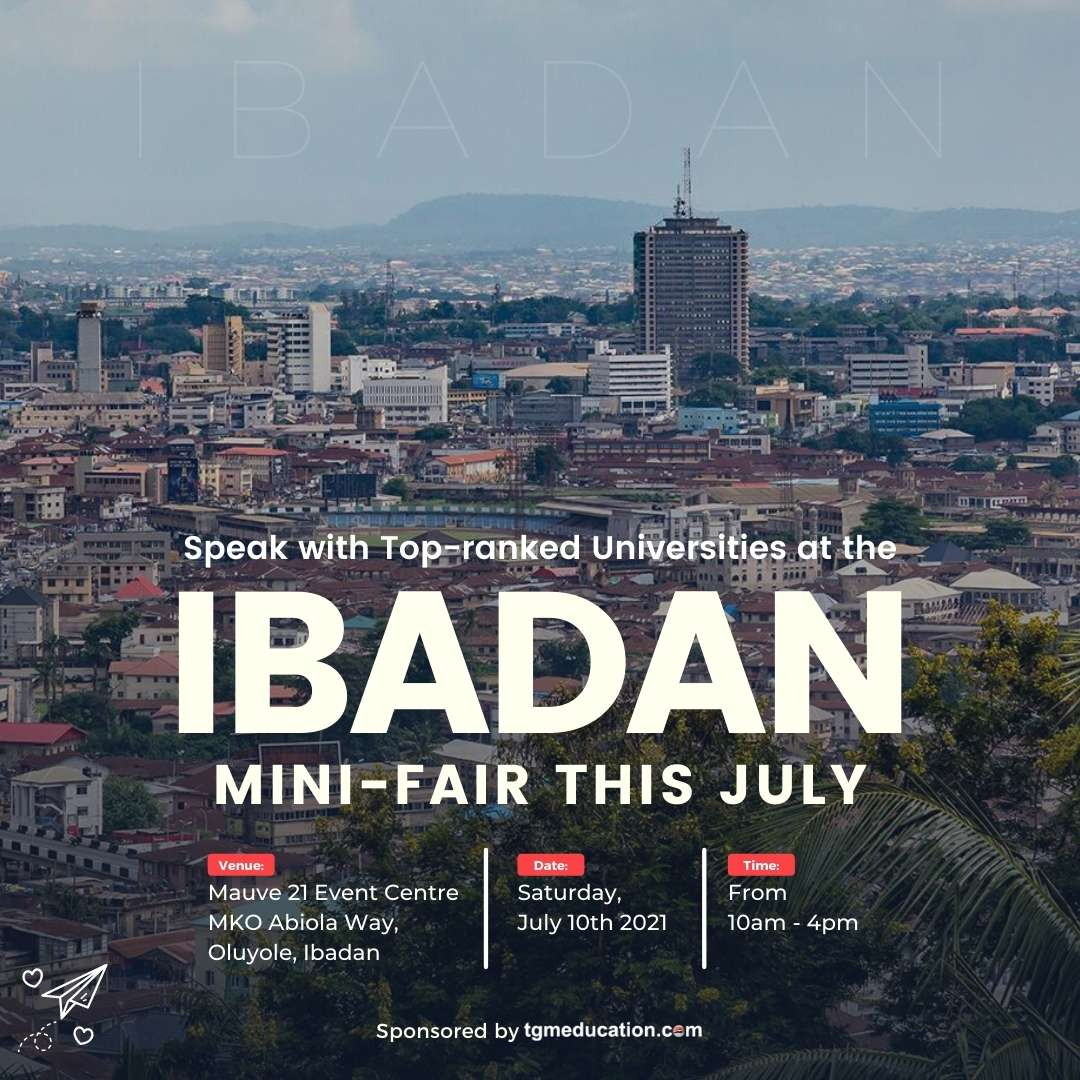 Join the Ibadan Study Abroad Mini Fair This July