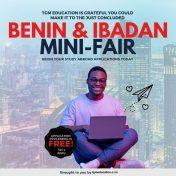 We had an AMAZING Mini Fair in Ibadan and Benin City!
