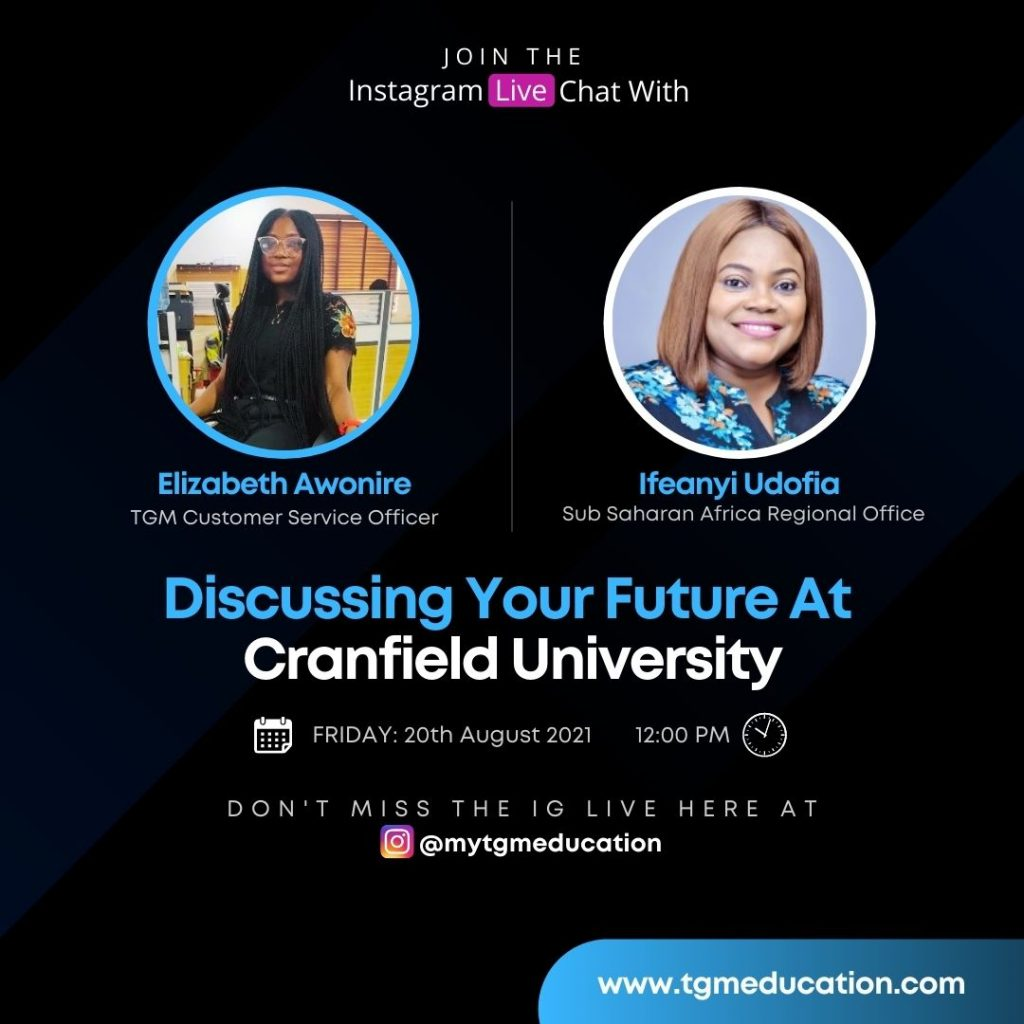 Cranfield University - Discussing Your Future